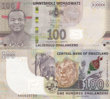 Swaziland 100 Emalangeni06.09.2017 UNC