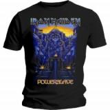 Tricou Unisex Iron Maiden: Dark Ink Powerslave