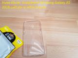 Husa silicon  trasparent Samsung Galaxy A5 2018 calitate si ieftin la pret