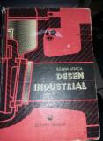 carte DESEN TEHNIC VECHE 1984,DESEN INDUSTRIAL,ILEANA VARGA,T.GRATUIT