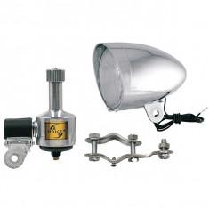 Set far+dinam+prindere Ciclo Sport cromatPB Cod:546012370RM