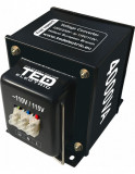 Transformator 230-220V la 110-115V 4000VA / 2800W, Ted Electric