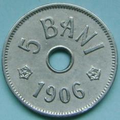 ROMANIA, 5 BANI 1906 J_XF * cod 123