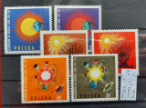 TS21 - Timbre serie Polonia - Cosmos 1965 Mi1606-16011, Stampilat