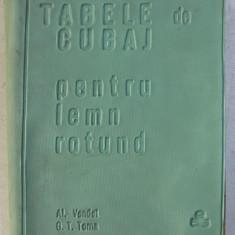 TABELE DE CUBAJ PENTRU LEMN ROTUND de AL . VENDEL si G.T. TOMA , 1966