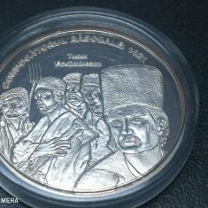 Romani Mari medalie argint pur Tudor Vladimirescu