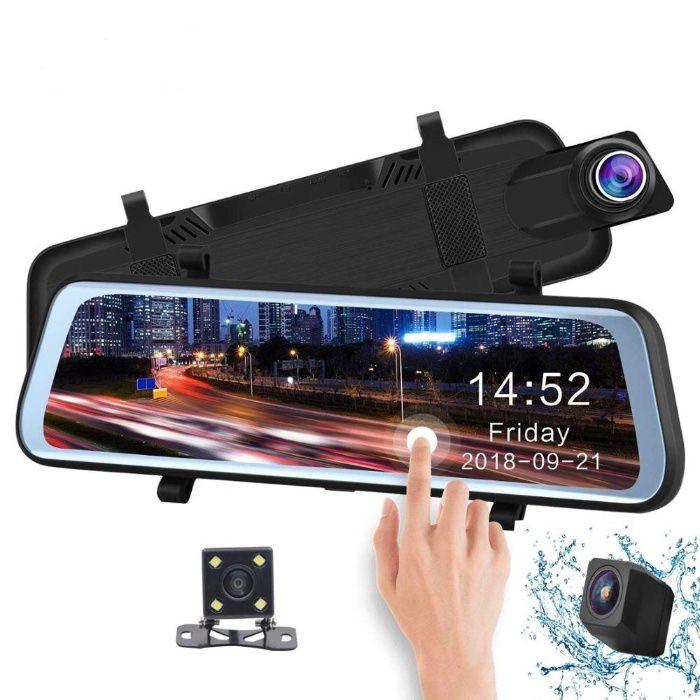 Recorder auto ,touch screen , Registrator , camera oglinda full HD, Dubla camera