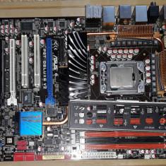 Placa de baza Asus P6T Deluxe V2 Skt 1366, i7, Xeon , Quad/Six Core