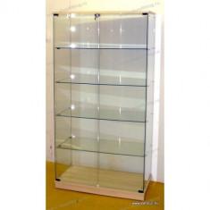 Vitrina din sticla calita, fara cadru, ARGIUNTIU, 1795 x 932 x 446 mm