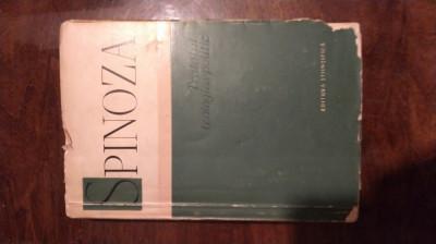 Spinoza - Tratatul Teologico Politic foto