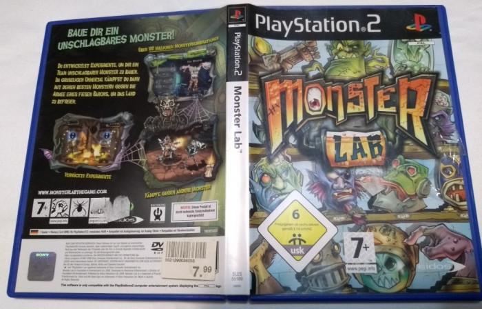 [PS2] Monsters Lab - joc original Playstation 2