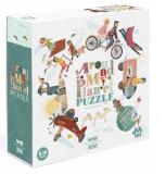 Puzzle reversibil Londji, În jurul lumii, 54 de piese