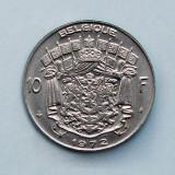 BELGIA  -  10 Francs 1972