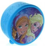 Boxa Portabila OEM Frozen Elsa & Anna Licentiate, autonomie 3-4 h, raza actiune 10 m, Bluetooth 4.0 (Albastru)