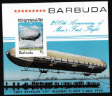 Barbuda - DIRIJABILE - Colita nestampilata