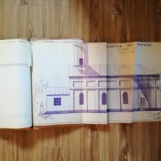 Proiect Biserica Măriuța, Ilfov, multiple planse format mare