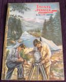STIINTA SI TEHNICA Nr 25 / 1951 proletcultism, ilustratii grafica propaganda RPR