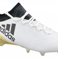 Cizme de fotbal adidas X 16.1 FG S81944 pentru Barbati, 40, 40 2/3, 41 1/3, 42, 42 2/3, 43 1/3, 44, 46, 48 2/3, Alb
