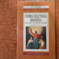 Storia dell'Italia moderna dal 1861 ai nostri giorni