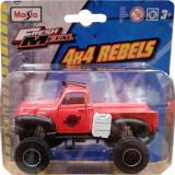 Masinuta Maisto Fresh Metal, 4X4 Rebels, 11 cm, 1:64, Rosu