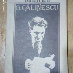 Viata lui G.Calinescu-Ion Balu