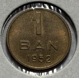 1 Ban 1952 Alama, Romania, a UNC, Luciu de batere (1)