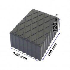 Tampon din cauciuc pentru elevator 120x160x120mm