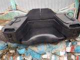 Cutie ATV  QUADRAX cu scaun suplimentar spate.