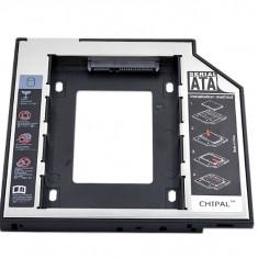 HDD Caddy adaptor 9,5 mm, SATA/SATA