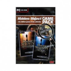 DOCTOR WATSON HIDDEN OBJECT GAME PACK PC