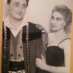 Flavia Adriana Buref și Dan Damian la Teatrul Bulandra, București, actori