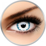 Crazy Wendigo - lentile de contact colorate albe anuale - 360 purtari (2 lentile/cutie)