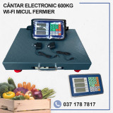 CANTAR ELECTRONIC 600KG WI-FI, Micul Fermier