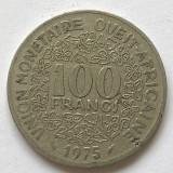 P727 Africa Est 100 franci 1975