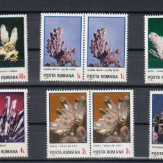 ROMANIA 1985   LP 1143  FLORI  DE  MINA   PERECHE   SERII  MNH
