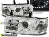 Faruri compatibile cu VW T4 90-03.03 TRANSPORTER DAYLIGHT Crom