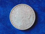 Moneda argint Dolar 1921 D, (cn65), America Centrala si de Sud