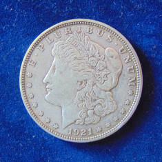 Moneda argint Dolar 1921 D, (cn65)
