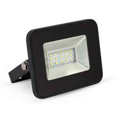 REFLECTOR LED SMD 10W 6000K IP65 EXTRA SLIM NEGRU foto