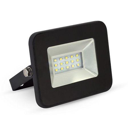 REFLECTOR LED SMD 10W 6000K IP65 EXTRA SLIM NEGRU