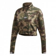 Cumpara ieftin Bluza adidas HALF ZIP AOP