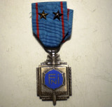 5.175 MEDALIE DECORATIE MILITARA BELGIA FNI RECONNAISSANCE WWII 2 STELE CLS. II, Europa