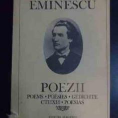 Poezii Poems Poesies Grdichte Stihi Poesias - Mihai Eminescu ,545607