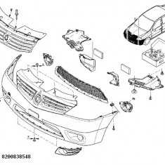Grila Proiector Dreapta Logan Renault 8200838548