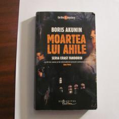 """AF - Boris AKUNIN """"Moartea lui Ahile"""""""