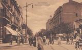Carte Postala - Bucuresti - Bulevardul Academiei, Circulata, Printata