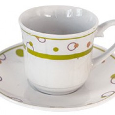 Set cesti cafea si ceai din portelan MN015608 Raki