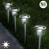 Lampă Solară Circulară Torță Oh My Home (Pachet de 4)
