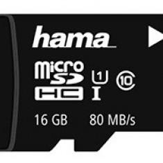 Card memorie Hama microSDHC 16GB UHS clasa 10 + adaptor SD