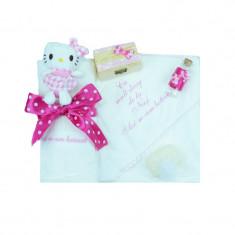 Trusou botez fetite Mini Bimbi Hello Kitty TMB-09, Multicolor